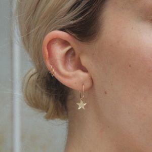 🌟 NEW Brandy Melville Gold Star Charm Earrings